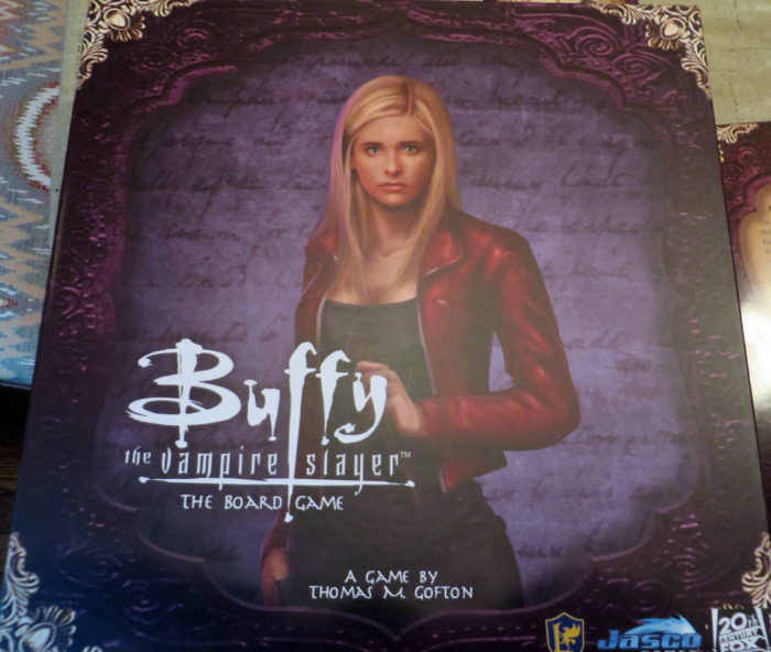 Armchair Dragoons Reviews Buffy the Vampire Slayer – The Board Game